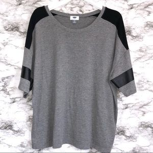 Jersey Style Women's Top